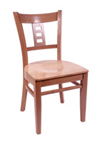 WLS-160 - Plaza Back Wood Chair