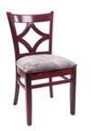 WLS-130 - Diamond Back Wood Chair