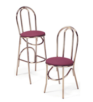 X-52BS/X-52 - Parlor Hairpin Stool & Chair