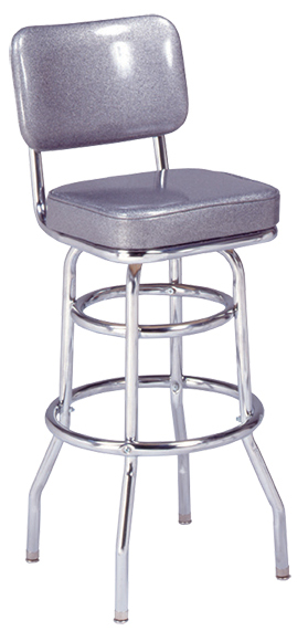 "215-531 Retro Bar Stool with 2"" Seat"