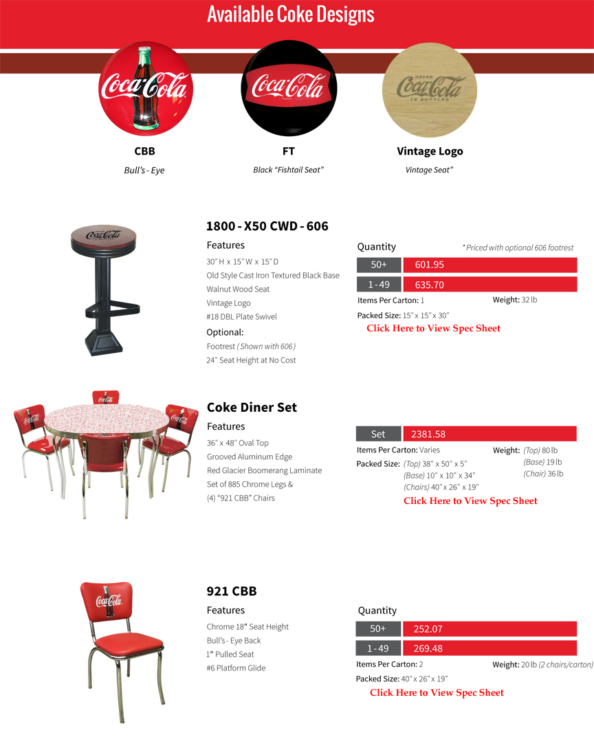Coca Cola Furniture Page 5